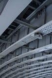 Faisceaux en acier et rivets industriels Image stock