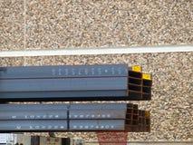 Faisceaux en acier prêts à livrer Photographie stock libre de droits