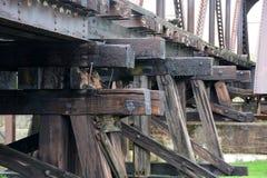 Faisceaux en bois Image stock