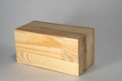 Faisceaux en bois multicouche Photographie stock libre de droits