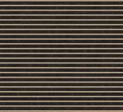Faisceaux en bois sur une surface métallique noire Vue supérieure visualisation 3d Texture sans joint Photos libres de droits