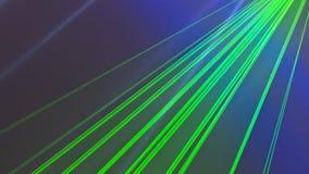 Faisceaux lumineux de lumière laser colorés images libres de droits