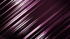 Faisceaux ou lignes diagonaux colorés animation de fond Animation mobile de fond de rayons légers de diagonale colorée illustration stock