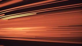 Faisceaux ou lignes diagonaux colorés animation de fond Animation mobile de fond de rayons légers de diagonale colorée illustration de vecteur