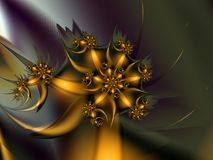 Faisceaux spectaculaires de fleur Photo libre de droits