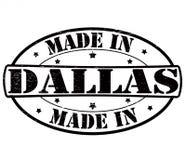 Fait à Dallas illustration de vecteur