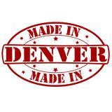 Fait à Denver illustration libre de droits