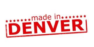 Fait à Denver illustration de vecteur