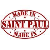 Fait à Saint Paul illustration de vecteur