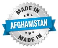 fait dans l'insigne de l'Afghanistan Photographie stock