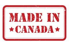 Fait dans le Canada illustration libre de droits