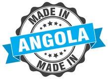 Fait dans le joint de l'Angola Photographie stock