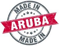fait dans le timbre d'Aruba illustration de vecteur