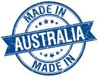 Fait dans le timbre d'Australie illustration libre de droits