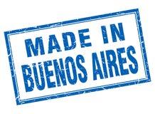 fait dans le timbre de Buenos Aires illustration de vecteur