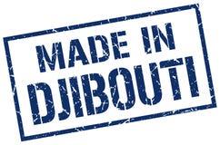 fait dans le timbre de Djibouti Image libre de droits