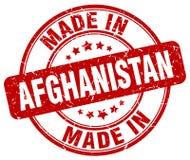 fait dans le timbre de l'Afghanistan Photos stock