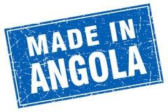 fait dans le timbre de l'Angola illustration libre de droits