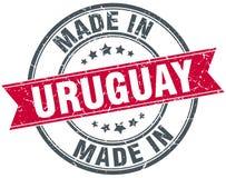 Fait dans le timbre de l'Uruguay illustration de vecteur