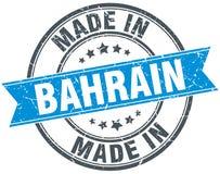 fait dans le timbre du Bahrain Images libres de droits