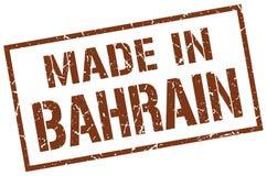 fait dans le timbre du Bahrain Photo stock