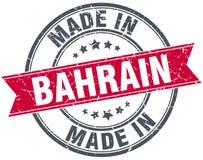 fait dans le timbre du Bahrain Photo libre de droits