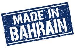 fait dans le timbre du Bahrain Photos libres de droits