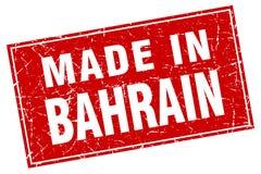 fait dans le timbre du Bahrain Illustration Libre de Droits