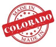 Fait dans le timbre du Colorado illustration libre de droits