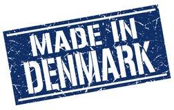 fait dans le timbre du Danemark Photo libre de droits