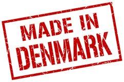 fait dans le timbre du Danemark Photos libres de droits