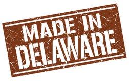 Fait dans le timbre du Delaware Illustration Libre de Droits