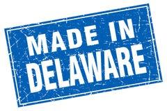 Fait dans le timbre du Delaware Illustration de Vecteur