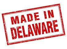 Fait dans le timbre du Delaware Illustration Stock