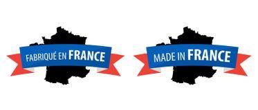 Fait dans les Frances - Frances d'en de Fabrique Photographie stock libre de droits