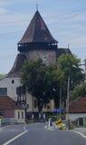 Fait de l'église de serveur d'Axente dans Frauendorf, la Roumanie Images libres de droits