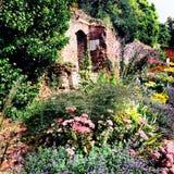Fait du jardinage historique médiéval de palais d'eltham Photographie stock libre de droits