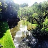 Fait du jardinage le palais d'eltham de fossé Photos libres de droits