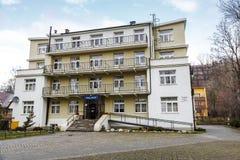 Fait du palais de pension de brique dans Zakopane Photos libres de droits