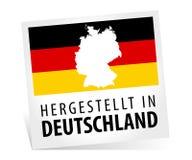 Fait en l'Allemagne - le Hergestellt au Deutschland Image stock
