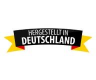 Fait en l'Allemagne - le Hergestellt au Deutschland Photographie stock libre de droits
