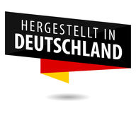 Fait en l'Allemagne - le Hergestellt au Deutschland Images stock