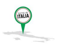 Fait en l'Italie - le Fatto en Italie Photos libres de droits