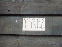 Fait main goupillé en bas du lette gratuit d'écriture de signe blanc et noir image libre de droits