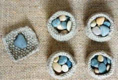 Fait main, knit, tricotant, passe-temps d'art, beau creatve Photographie stock