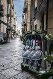 Fait main sicilien traditionnel de marionnette Image libre de droits