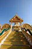 fait un pas le temple Images libres de droits