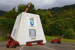 Faites cuire la crique commémorative de bateau, bruits de Marlborough, Nouvelle-Zélande photographie stock