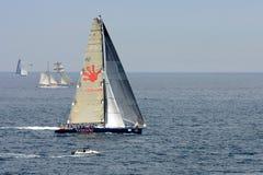 Faites de la navigation de plaisance la concurrence à Rolex Sydney au rac de Hobart Photographie stock