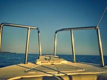 Faites de la navigation de plaisance la navigation Photo libre de droits